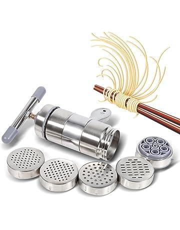 Wallfire Manual DIY Noodle Maker Máquina de fabricación de presión de exprimidor de Fideos portátil de