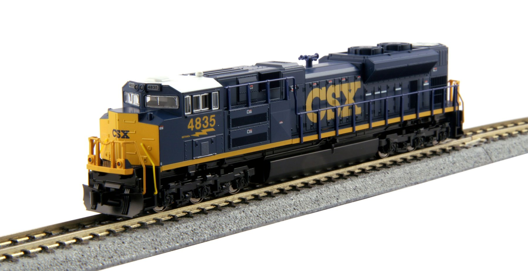 Kato USA 176-8436 Number 4835 N EMD SD70ACe CSX Train