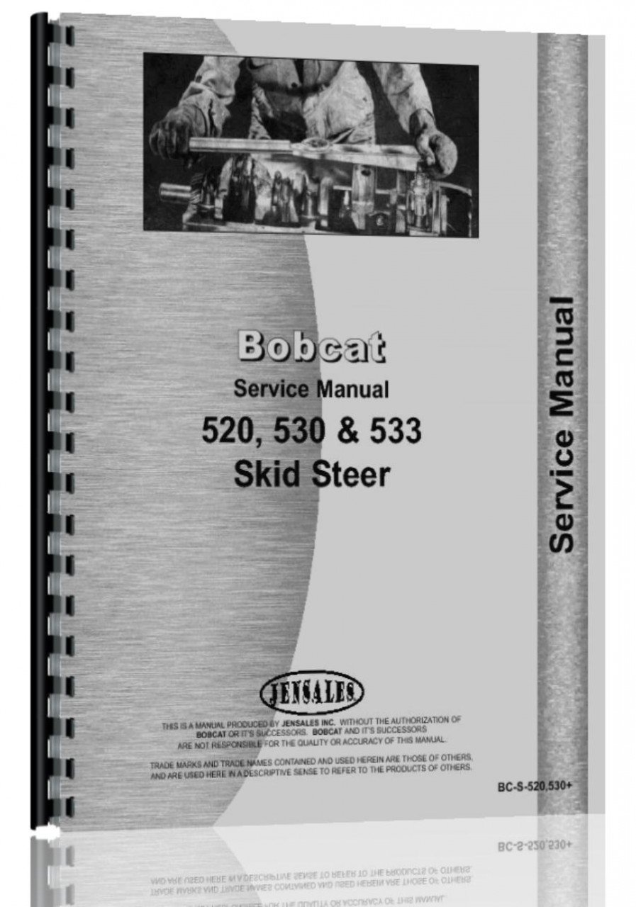 bobcat 533 skid steer loader service manual jensales ag products rh amazon com Clark Engines Clark Gable