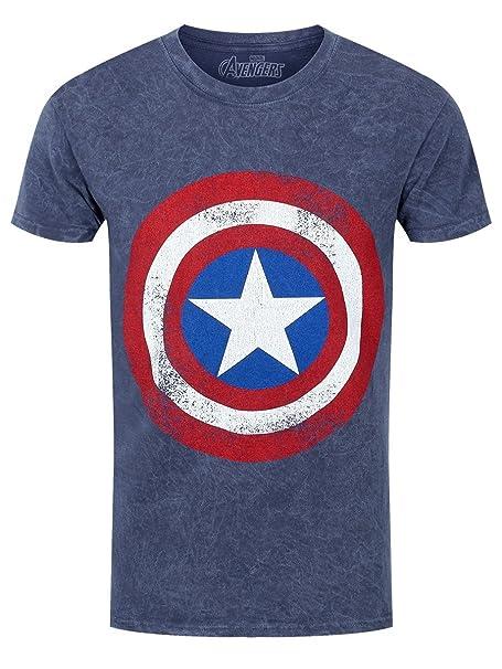 The Avengers - Camiseta - Estampado - para hombre azul azul L/ 102 cm-