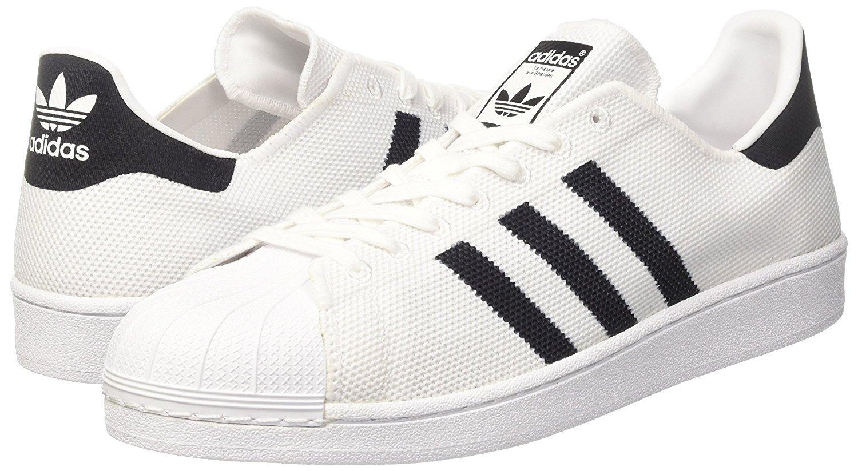 Adidas Herren Superstar Sneaker Weiß / schwarz schwarz schwarz e52a2d