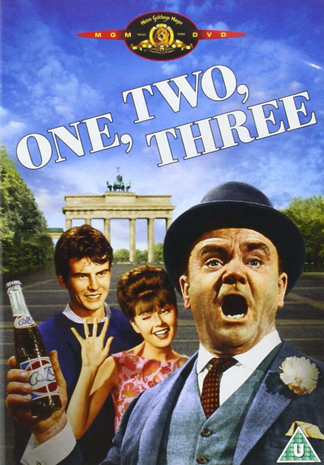 Three James Cagney movie poster print 5 1961 One Two