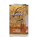 A.S.H. アッシュ 「エクストラ ゴールド」エンジンオイル 15w-50 ノンポリマー ノンエステル 100%化学合成油