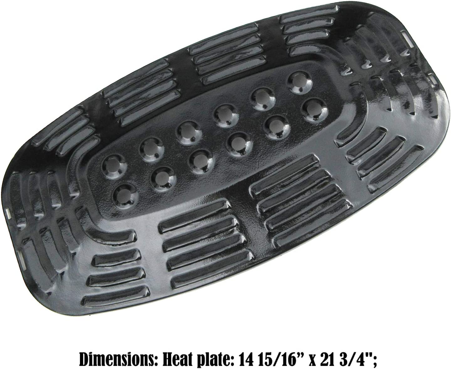 Uniflame GBC730W Porcelain Steel Heat Plate Replacement Part