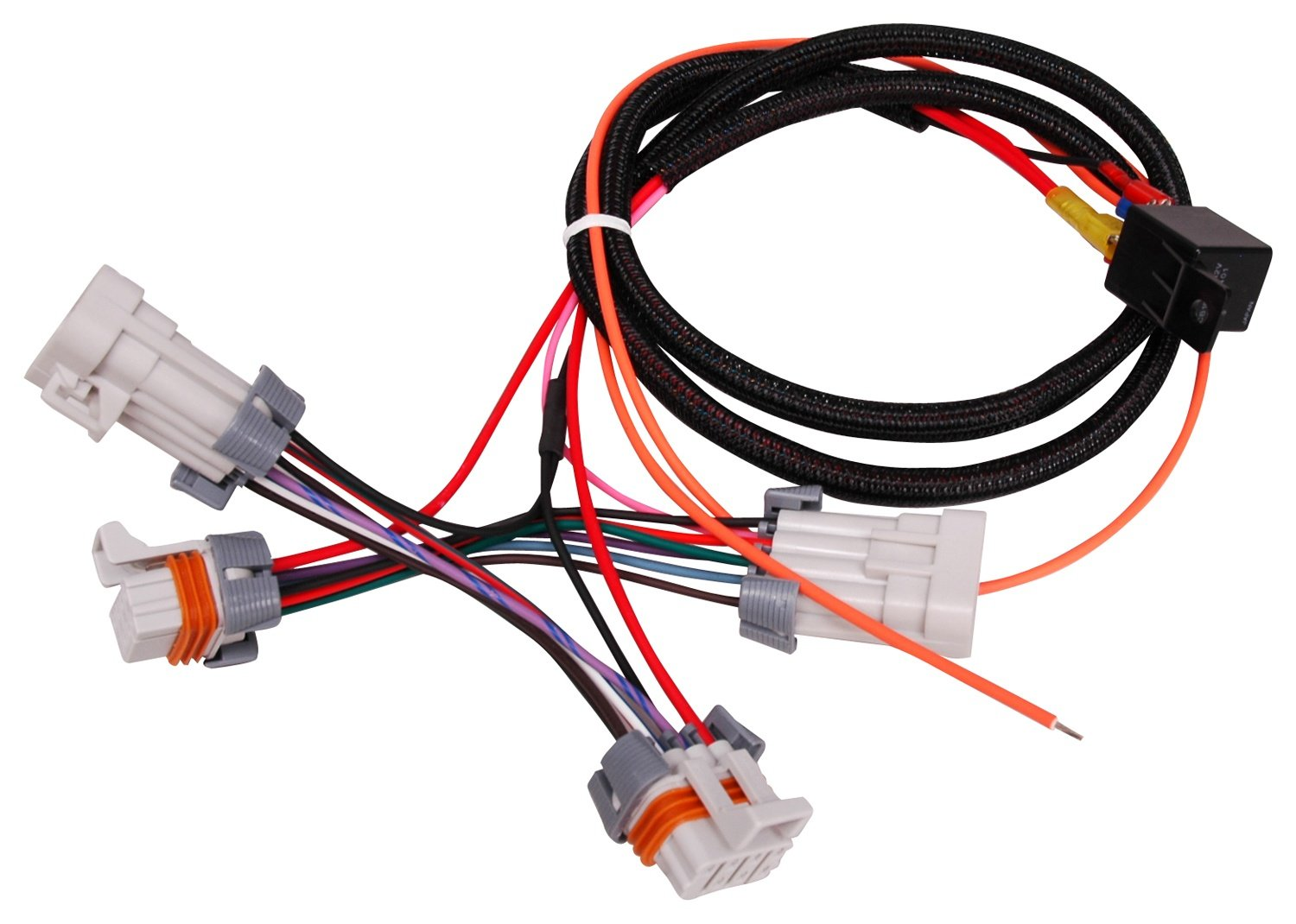 7134eu4G1cL._SL1500_ amazon com msd 88867 ls coil power upgrade harness automotive ls coil wiring harness at gsmportal.co