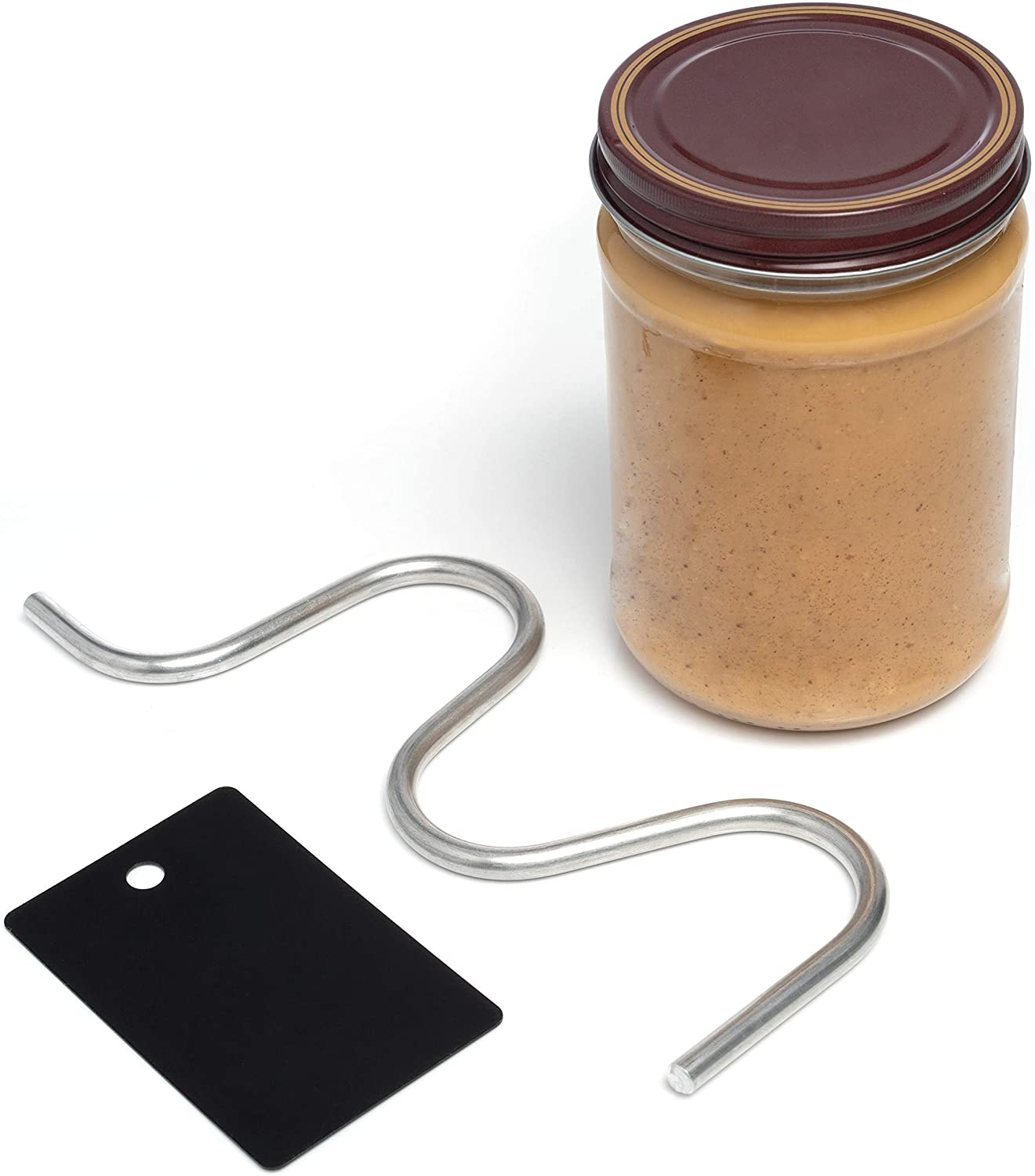 EZPB Natural Nut Butter Stirrer Multi-Size: Fits 16 to 28 oz Jars
