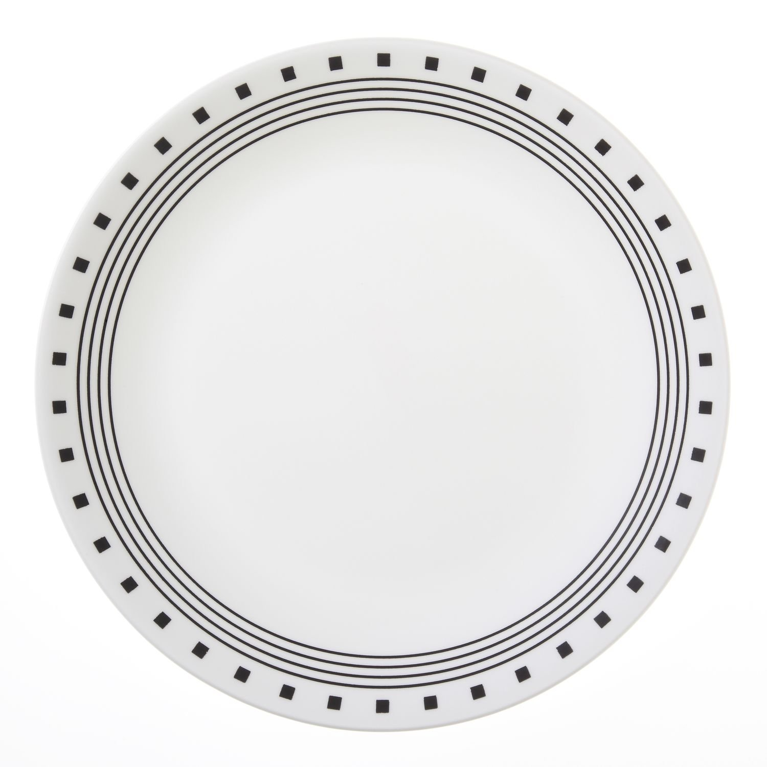 Corelle Livingware City Block 10-1/4'' Dinner Plate (Set of 8),Dotted by Corelle (Image #1)