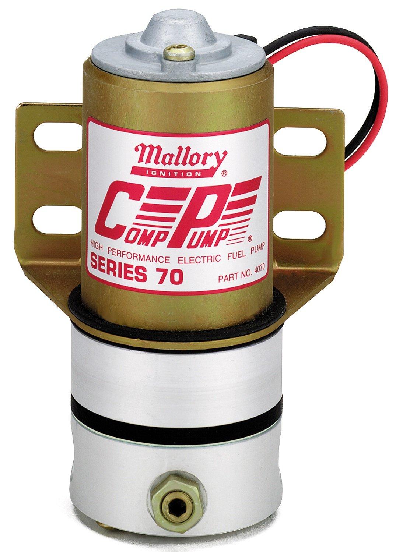 MALLORY 22256 Fuel Pump (Carb 70Gph, 5-6Psi)
