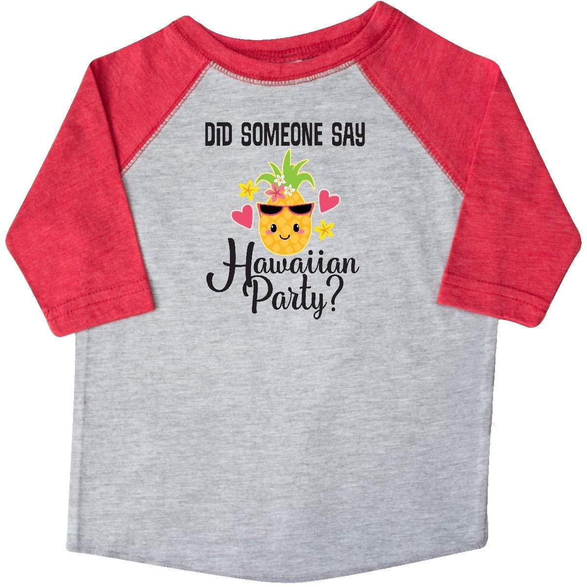 inktastic Hawaiian Party Pineapple Toddler T-Shirt
