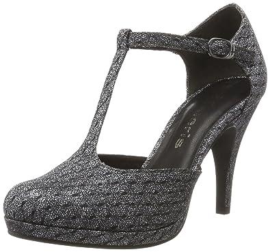 3d47ac28ab4da4 Tamaris Damen 24429 T-Spangen Pumps  Amazon.de  Schuhe   Handtaschen