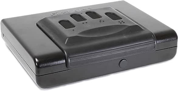 First Alert Portable Handgun Safe, Small Multicolor, 5200DF