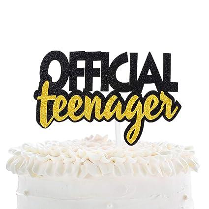Superb Official Teenager 13 Birthday Cake Topper Boys Girls 13Th Funny Birthday Cards Online Kookostrdamsfinfo