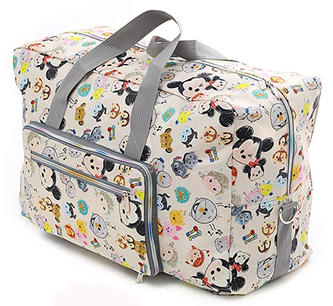 Amazon.com: Bolsa de viaje plegable para mujeres y niñas ...