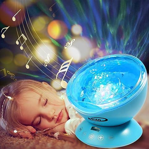 Projektor Lampe, Ikalula Ozeanwelle Projektor Licht: Amazon.De