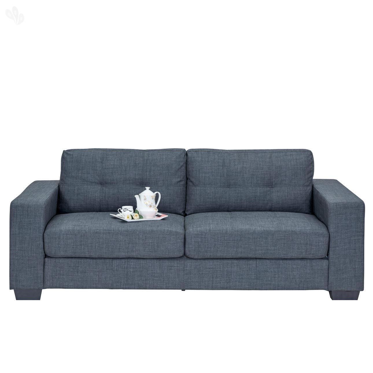 Royal oak berlin three seater sofa grey amazon home kitchen parisarafo Choice Image