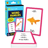 Carson Dellosa Word Families Flash Cards—Grades 1-3, Phonics Practice With Word Family Endings for Vocabulary and Spelling Sk