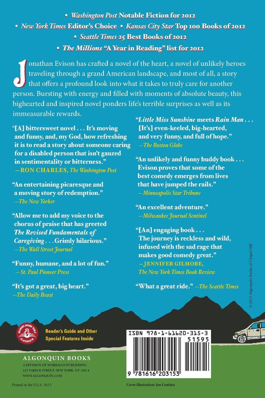 Amazon: The Revised Fundamentals Of Caregiving: A Novel  (9781616203153): Jonathan Evison: Books