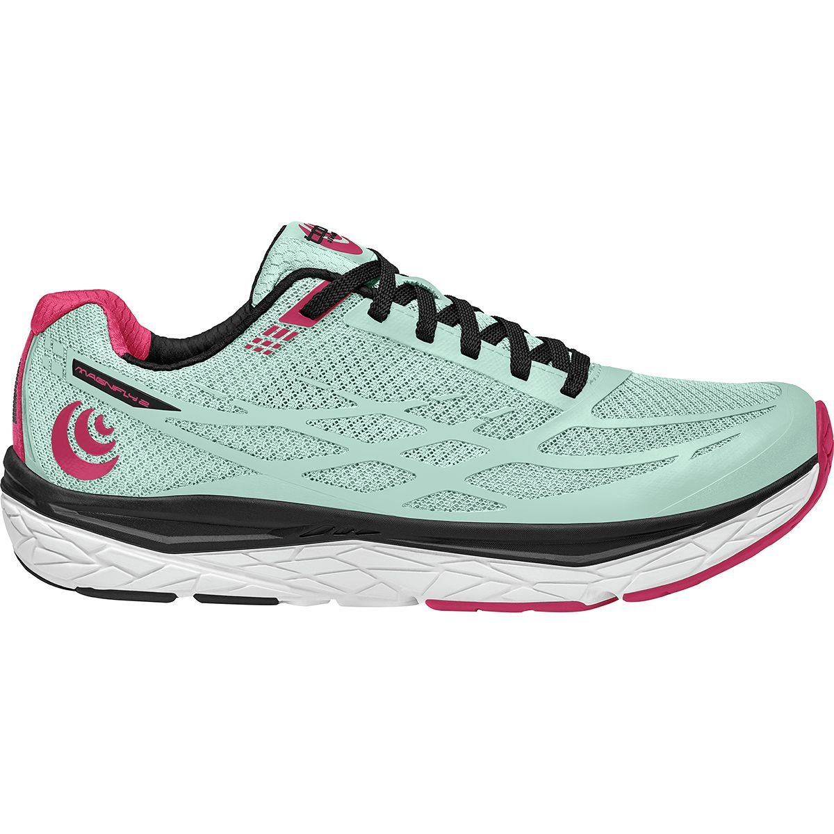Topo Athletic Magnifly 2 Running Shoes - Women's B074JFM4KZ 9 B(M) US|Ice/Raspberry