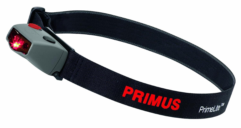 Primus PrimeLite Daily Plus Stirnlampe, Schwarz/Rot