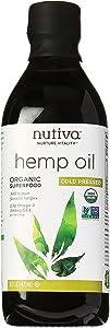 Nutiva Organic Cold-Pressed Hemp Oil, 16 oz