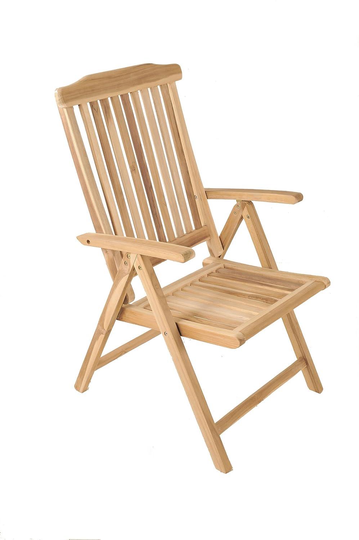 Amazon.de: SAM® Garten-Hochlehner Aruba, Gartenmöbel aus Teak-Holz ...