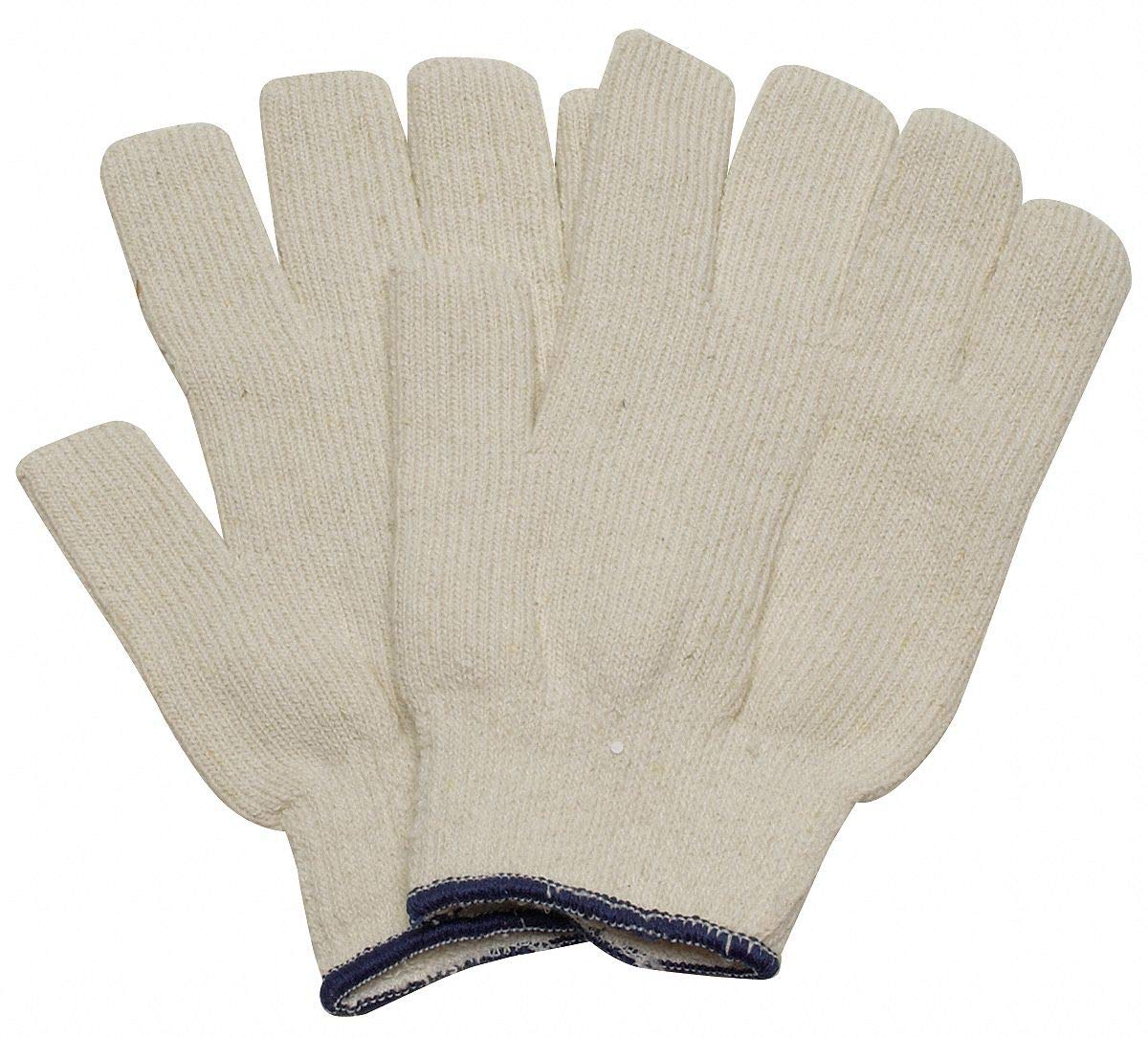 Mens L PR Heat Resistant Gloves White