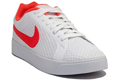 NIKE Court Royale LW TXT White/Total Crimson | Textile Size 11.5