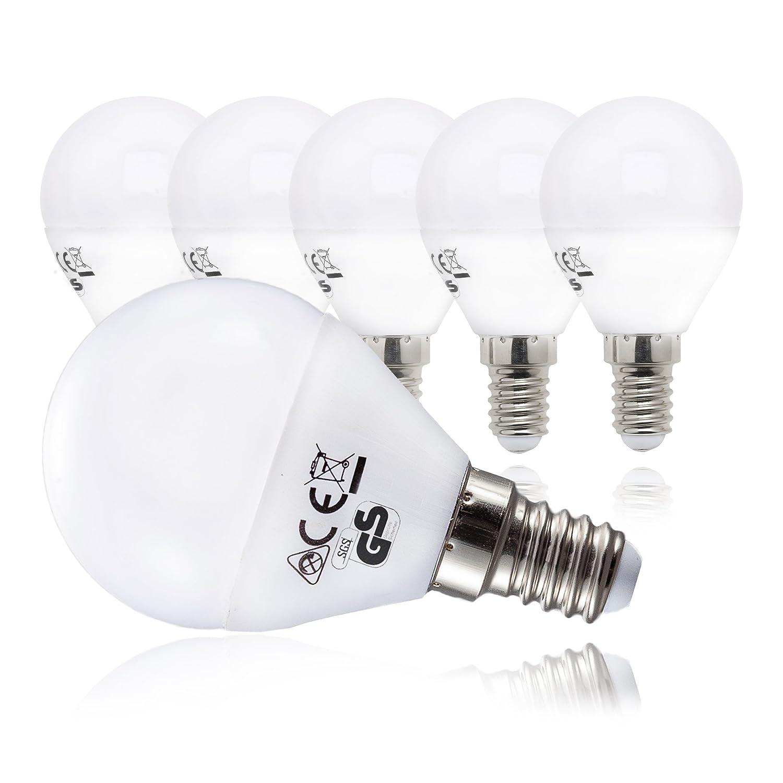 Ampoule LED LED Lampe Ampoule LED///E14/5,5 W/470 lm/remplace 40 W/Blanc chaud, E14, 5 watts, 230.00 volts B.K.Licht