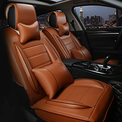 Amazon Com Ankiv Orange Full Set Universal Fit 5 Seats Car