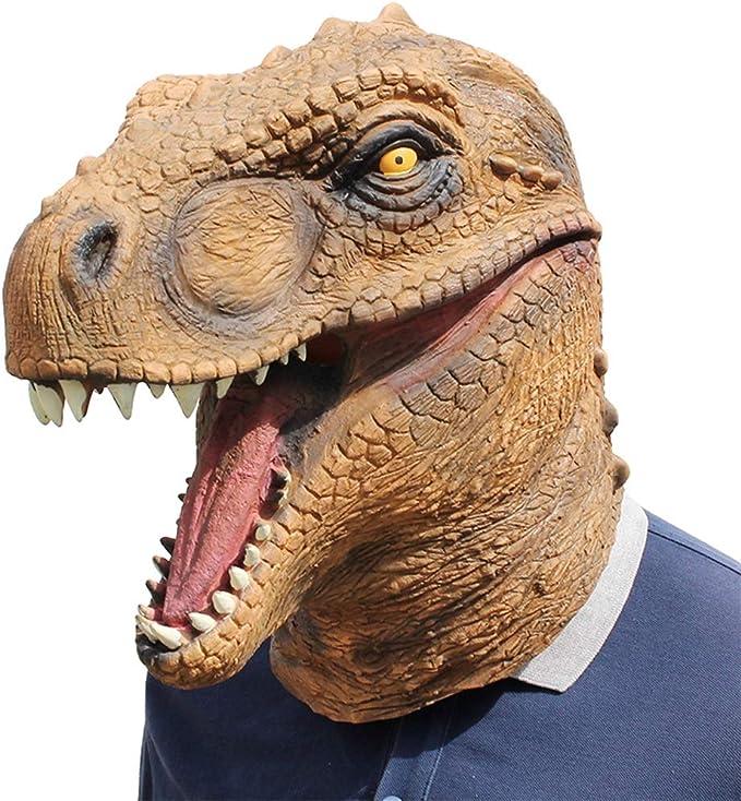 OoB Realista T-Rex Máscara de Dinosaurio Jurásico Mundo Cosplay ...