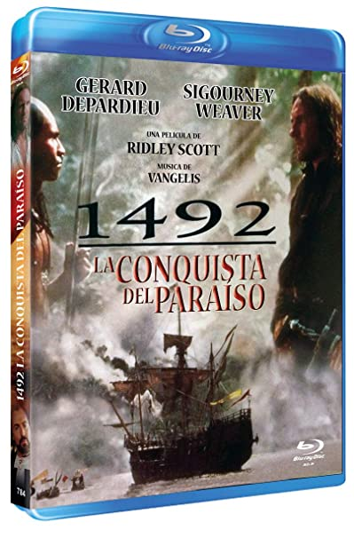 1492 Conquest Of Paradise 1992 Fourteen Ninety Two Conquest Of Paradise Blu Ray Reg A B C Import Spain Gerard Depardieu Armand Assante Sigourney Weaver ángela Molina Fernando