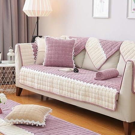 J&DSK Cojín de sofá nórdico Simple Moderna Sala Tela Cuatro ...