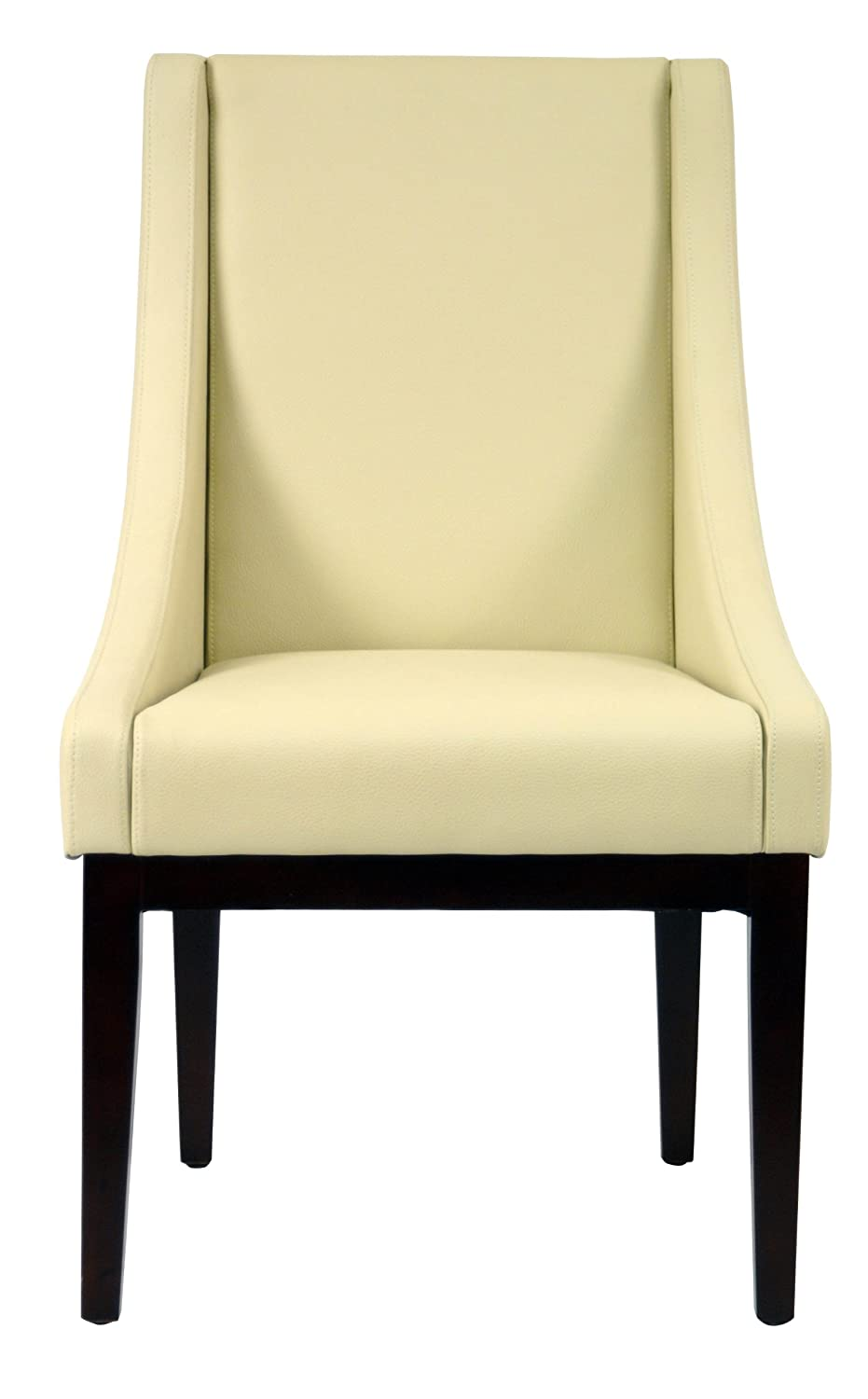 Amazon Safavieh Mercer Collection Mario Leather Arm Chair Cream Kitchen Dining