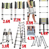 3.5m Teleskopleiter ausziehbare Leiter Leiteradapterteile