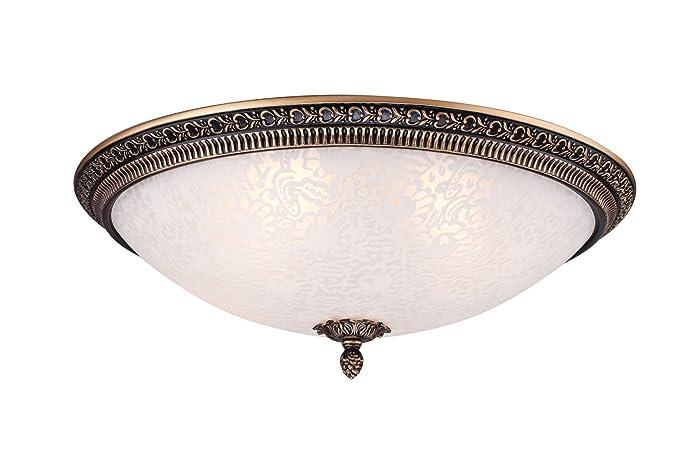 Lámpara de techo con diseño elegante de estilo rústico ...