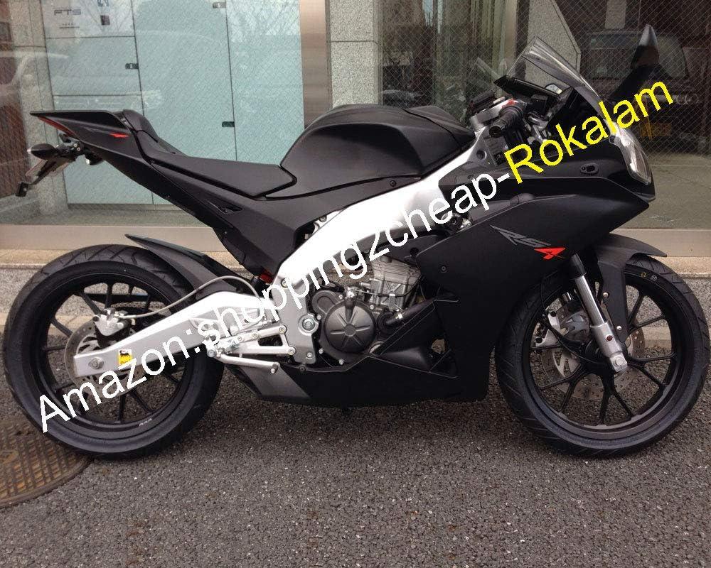 Motorrad Verkleidungs Set Für Aprilia Rs4 125 Teile 2012 2013 2014 2015 Rs4 50 12 13 14 15 Matt Schwarz Spritzguss Auto