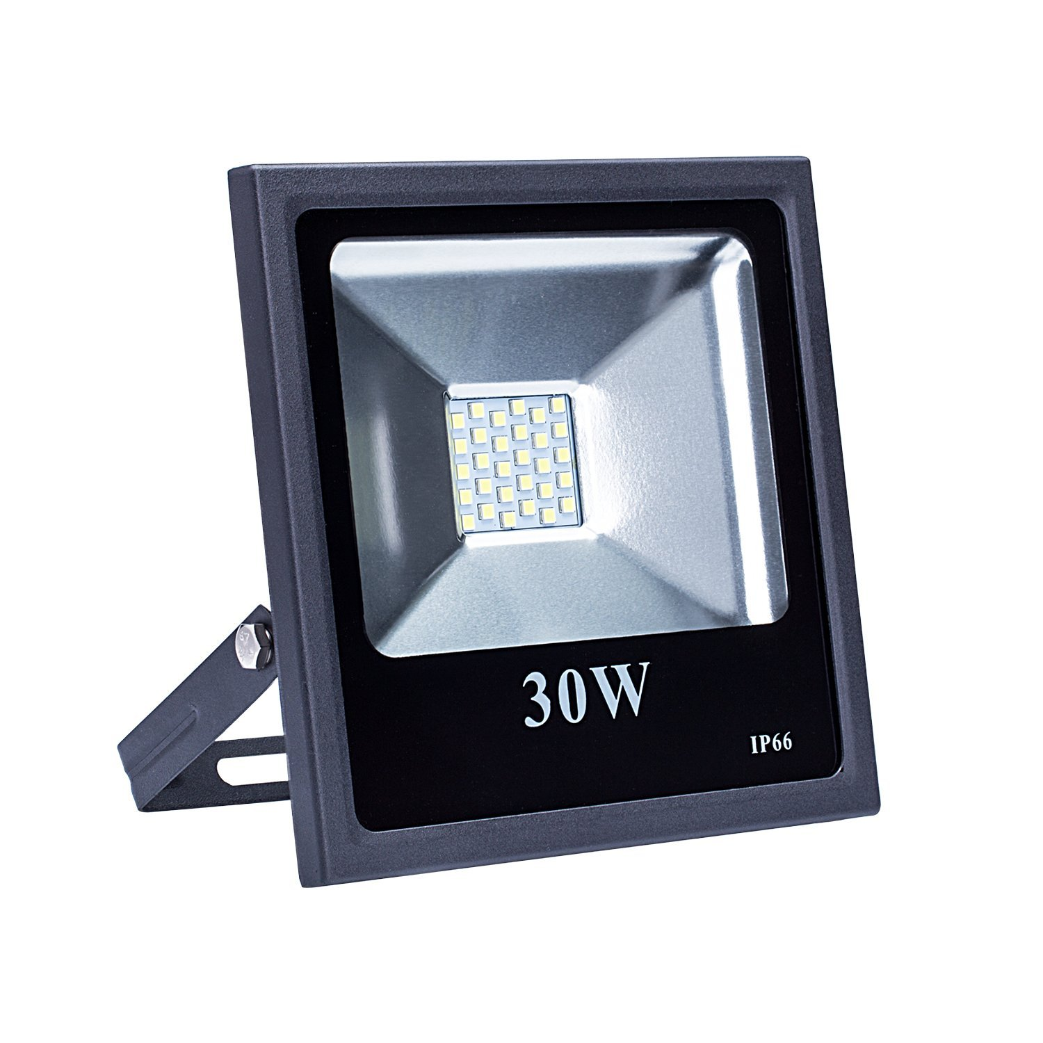 Brightown Outdoor LED Security Flood Lights-30W LED Daylight White 6000K(150W Halogen Bulb Equivalent), Waterpoof