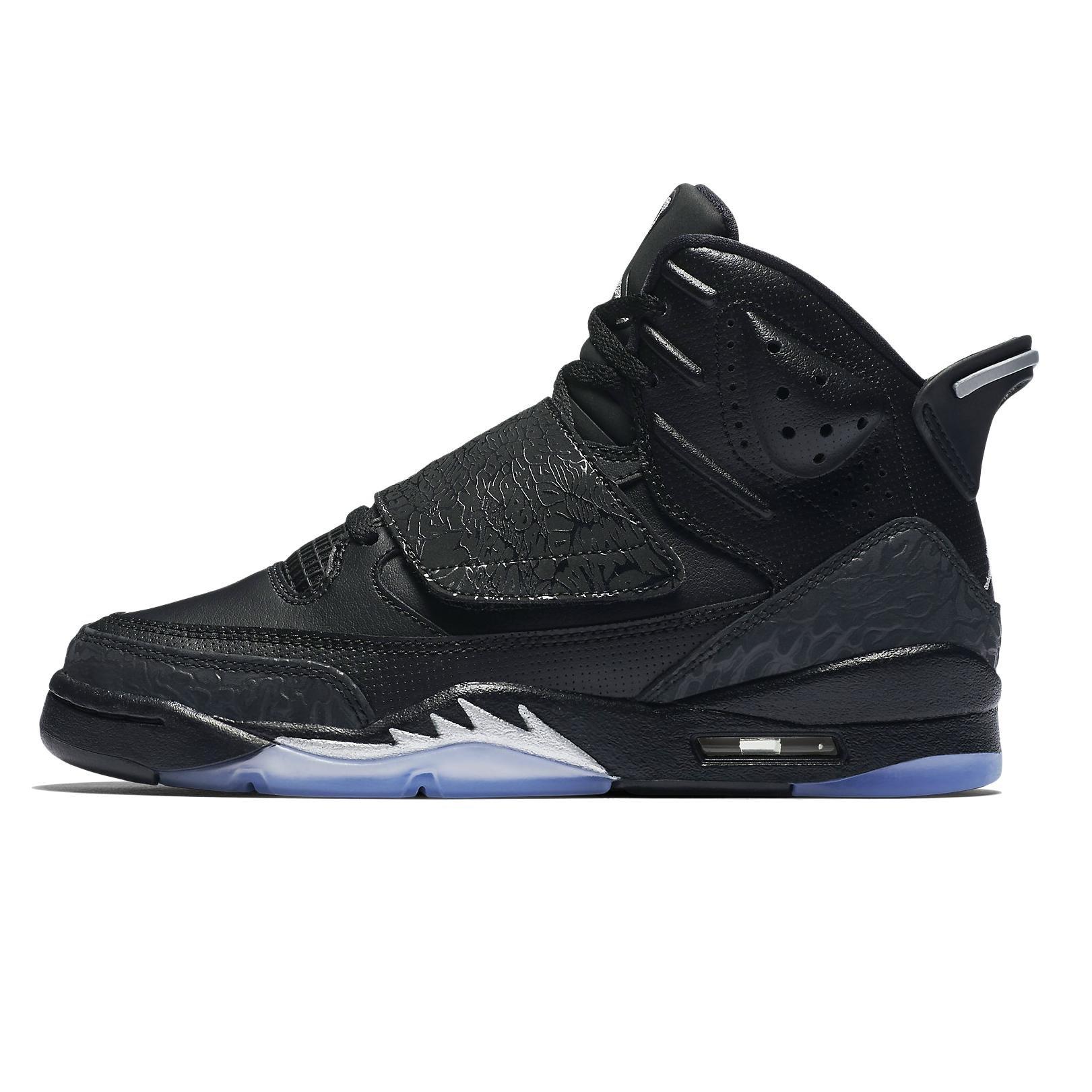 Jordan JORDAN SON OF BG BOYS basketball-shoes 512246-010_6Y - BLACK/METALLIC SILVER-ANTHRACITE