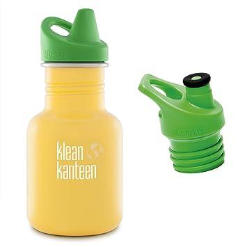 Amazon.com: Klean Kanteen 12 oz botella de agua de acero ...