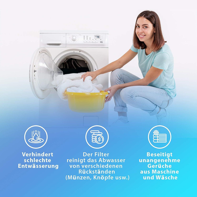 Pumpenfilter für Ariston und Indesit Waschmaschine C00045027