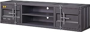 ACME Cargo TV Stand - - Gunmetal