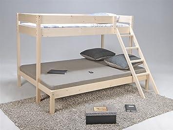 lit superpose trio. Black Bedroom Furniture Sets. Home Design Ideas