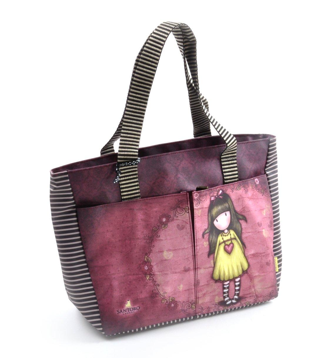 Santoro Gorjuss sac shopper avec poches - cœur 5TXRrauUme