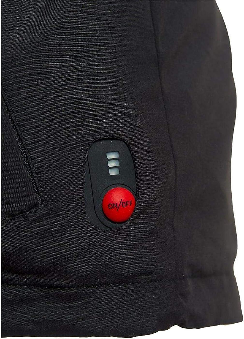 Weste beheizt M Modern heatwear Unterziehweste mit Heizsystem schwarz