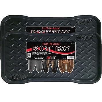 JobSite Heavy Duty Boot Tray, Multi Purpose For Shoes, Pets, Garden