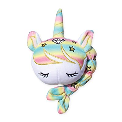 END SOURCE UniSparkle Unicorn Plush Squishy | Cute Design and Sweetly Scented | 8 inches of Squeezable Plush: Toys & Games
