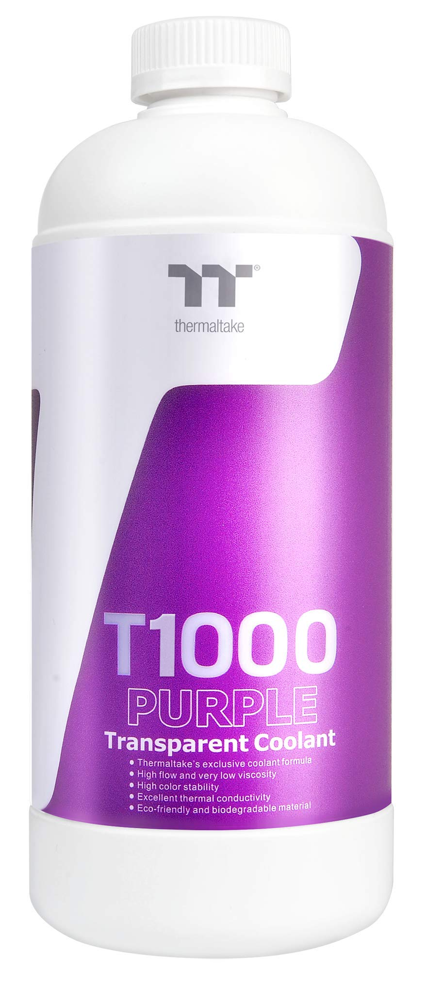 Thermaltake T1000 1000ml New Formula Purple Transparent Water Cooling Solution Anti-Corrosion Anti-Freeze Minimize Precipitation CL-W245-OS00PL-A