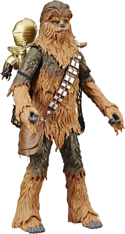 "Chewbacca /& C-3PO 2 Back 6/"" The Black Series STAR WARS Amazon Exclusive MIB"