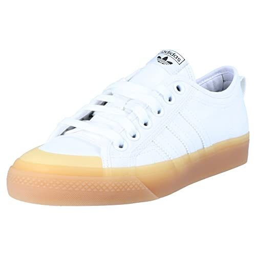 new concept 72623 35ec2 adidas Originals Nizza W CQ2533 Women s Trainers White, Shoe Size 40