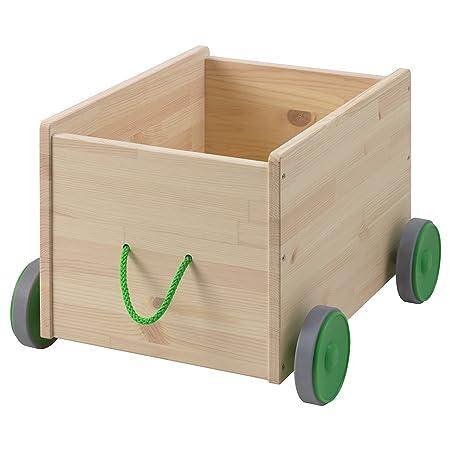 Ikea Flisat - Contenitore PORTAGIOCHI con ruote: Amazon.it ...
